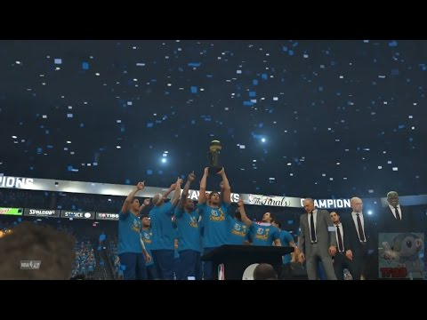 NBA 2K17 - Dallas Mavericks Championship Celebration
