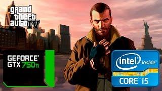 Grand Theft Auto IV - ТЕСТ-ДРАЙВ BENCHMARK - GTX 750 TI OC 2GB