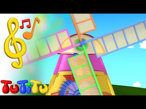 TuTiTu Toys and Songs for Children | Windmill Song