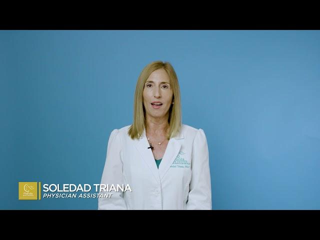 Soledad Triana, PA: July Psoriasis Awareness English