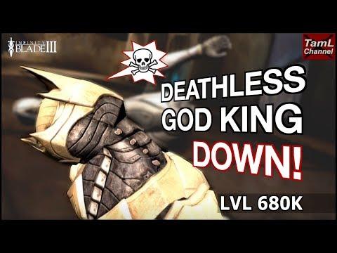 Infinity Blade 3: Deathless God King Down! Lvl 680K