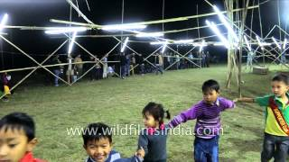 Cute children dance on occasion of Yaoshang Festival: Manipur Mp3