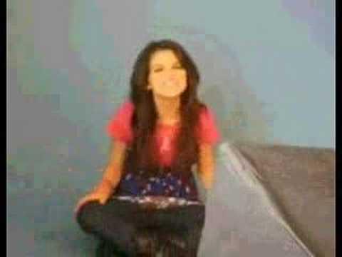 Selena Gomez singing Hannah Montana's