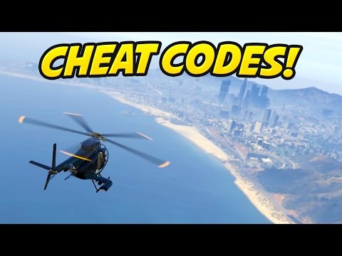 GTA 5 PC Cheat Codes : How Cheats Work On The PC Version!