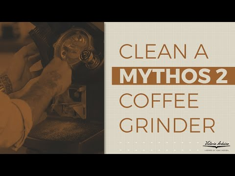 How To Clean A Victoria Arduino Mythos 2 Coffee Grinder