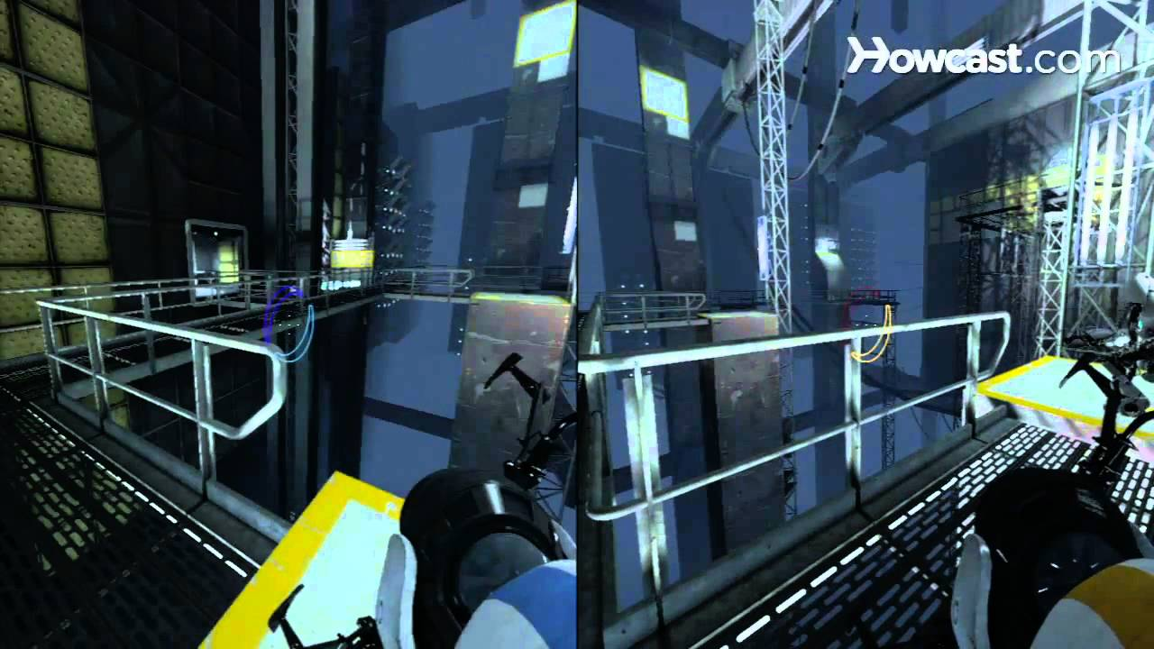 Portal 2 Co-op Walkthrough / Course 3 - Part 8 - Room 08/08