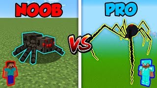 Minecraft NOOB vs. PRO: SPIDERS in Minecraft!