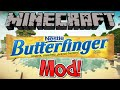 Minecraft 1.7.10 Mod - The Butterfinger Mod | PEANUT BUTTER GOODNESS!