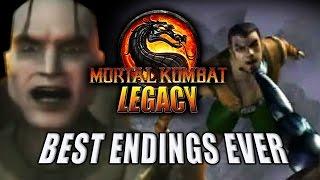 BEST/FUNNIEST ENDINGS EVER: Mortal Kombat 4 (MK Legacy Part 13)