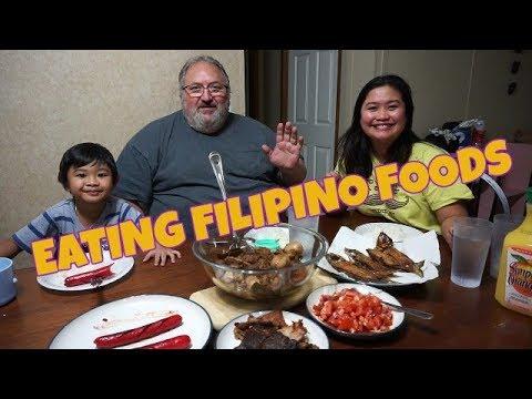 FILIPINA AMERICAN LIFE IN AMERICA EATING FILIPINO FOODS