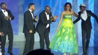 Majid Michel, John Dumelo, Lilwin and others sing at ghana movie Awards