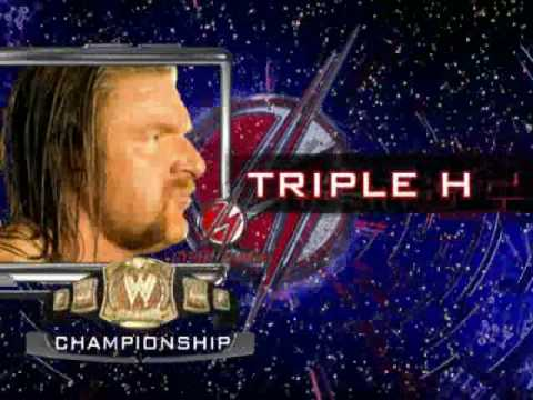 Wwe Cyber Sunday Triple H Vote Now