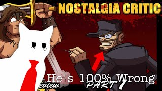 """The Nostalgia Critic is WRONG About """"Conan the Barbarian"""" (Wylde Times Reviews)"""