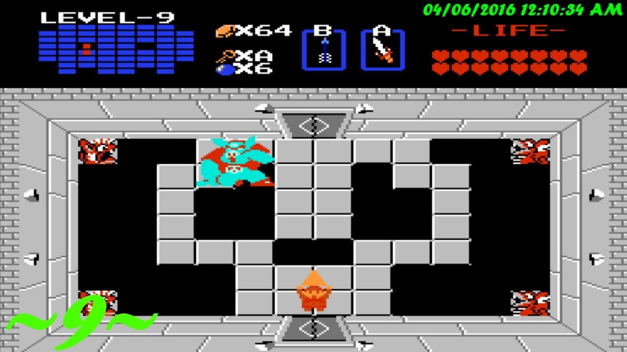 The Legend Of Zelda 1 Q1 Episode 9 Level 9 Ganon S Castle Level