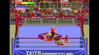 Game of the day 2088 Champion Wrestler (冠軍摔角) Taito Corporation 1989 one coin beat