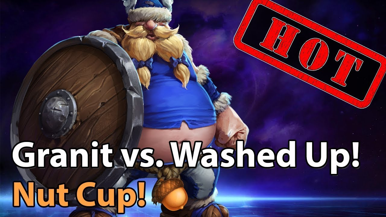 ► Heroes of the Storm: Granit Gaming vs. Washed Up - Nut Cup
