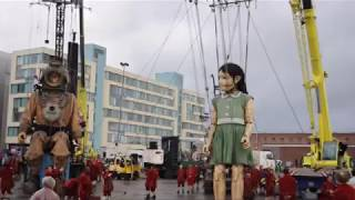 Liverpool Land Of The Giants - Sea Odyssey by Royal De Luxe