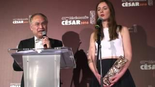 Celine Delvaux César 2016 du film d'animation du court métrage pour Le repas dominical