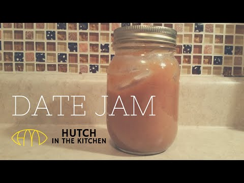Date Jam Sugar Substitute Recipe | HUTCH IN THE KITCHEN