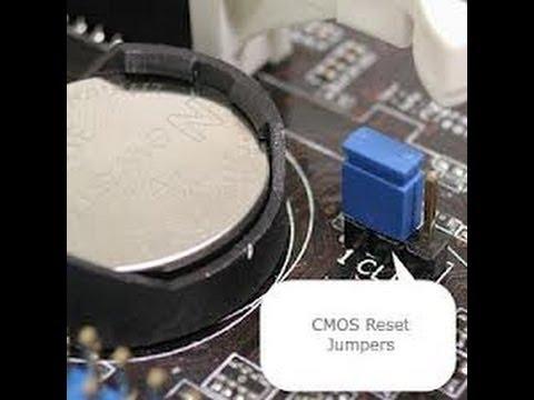CLEAR CMOS - Reset BIOS - DEFAULT SETTINGS