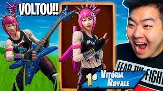 ELA VOLTOU!! COMPREI A *LENDÁRIA* ROQUEIRA E VENCI!! - Fortnite Battle Royale