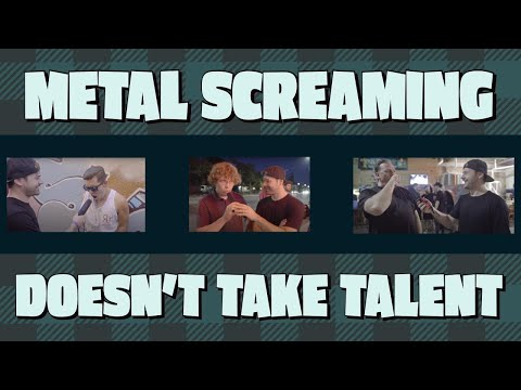 Headbangers Blog (58529) - Does the 'Metal Scream' Take Talent?