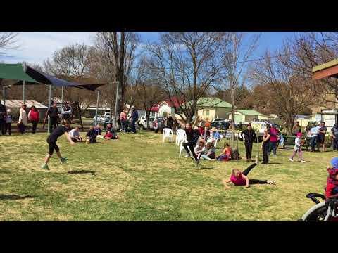 Destiny Dancers at Walcha spring Farmers' Market