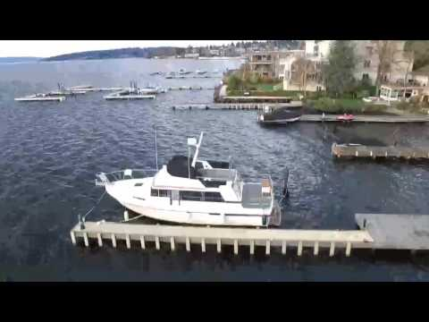 Drone Flight over Kirkland Waterfront
