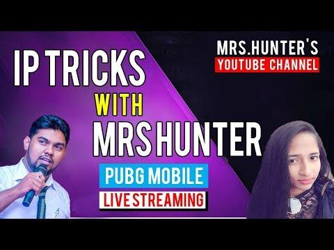 🔴  PUBG MOBILE  | MRS HUNTER - Live Stream