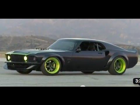 Hot Rod Goes Drifting With Vaughn Gittin Jr S Rtr X Youtube
