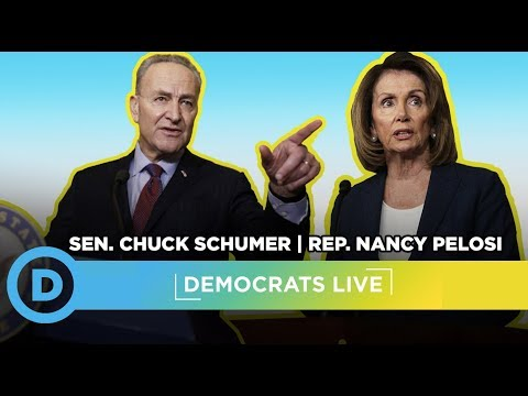 Democrats LIVE: Leader Nancy Pelosi and Leader Chuck Schumer