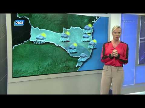 Previsão do tempo para terça-feira, 27 de dezembro em Santa Catarina