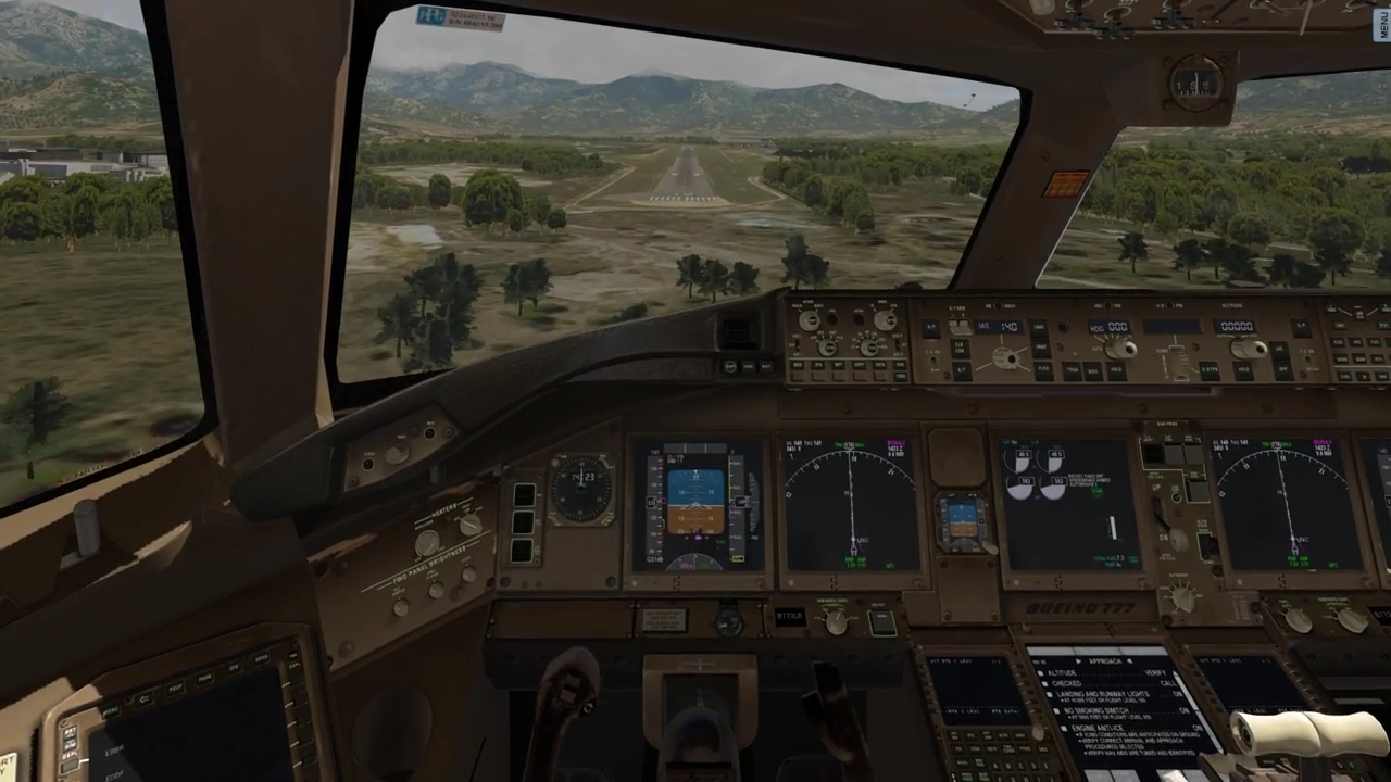 (X-Plane 11) Sainte-Catherine Approach | Boeing 777-200LR