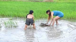 Amazing Fishing at Battambang   How to Fishing At Cambodia  part 325