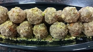 Winter special- Dry fruit laddoo | healthy and nutritious dry fruits laddoo