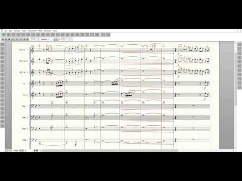 Bluecoats 2016 Transcription - Down Side Up (Full)