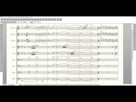 Bluecoats 2016 Transcription - Down Side Up (Full)