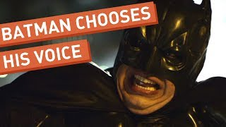 Batman Chooses His Voice thumbnail