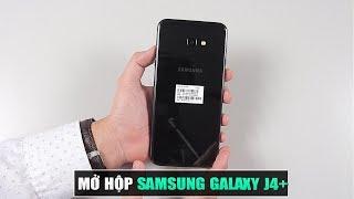Mở hộp & đánh giá nhanh Galaxy J4+: Smartphone giá rẻ, không cảm biến vân tay của Samsung