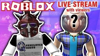 ROBLOX LIVE STREAM | NATURAL DISASTER, MURDER MYSTERY AND MORE! {EPISODE 67}