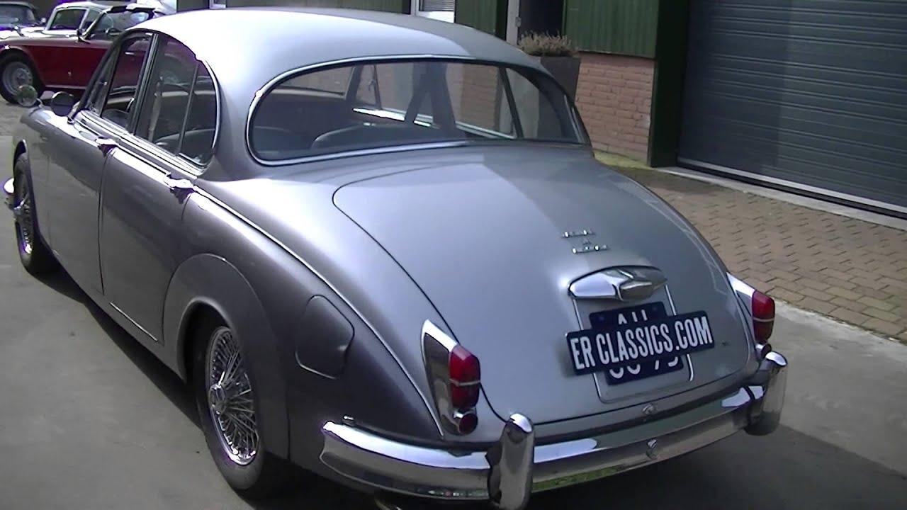 Jaguar Mk2 1962 38 Ltr Wire Wheels Good Technics Driversquality Xk150 Wiring Harness Video Erclassicscom Youtube