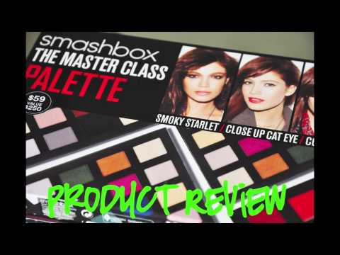 Smashbox The Master Class Palette Product Review