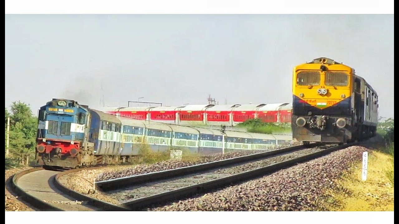 Train Spotting on Sunday - Bikaner, Rajasthan