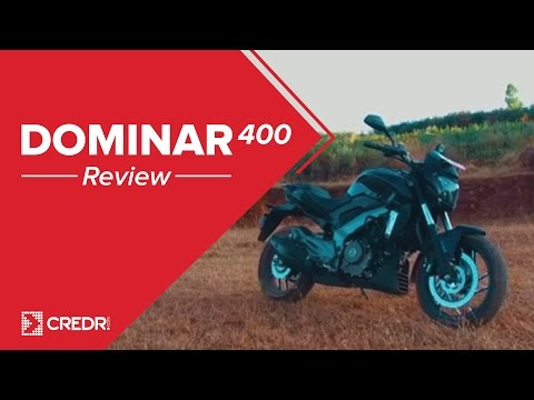 Bajaj Dominar 400 Review || Top Speed, Sound, Price : CredR