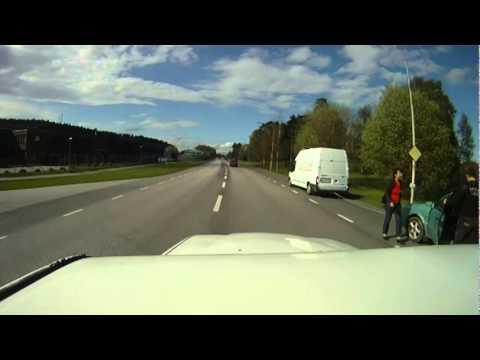 Upplands Väsby Sweden (Driving)