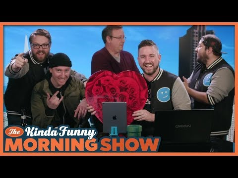 Cool Greg's First Morning Show! - The Kinda Funny Morning Show 02.14.18