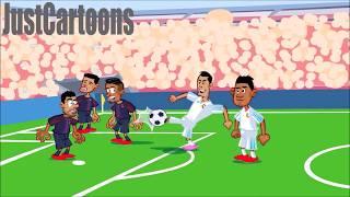 PSG vs Real Madrid 1-2 All Highlights