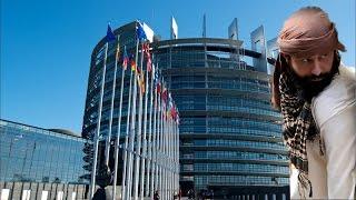 happy taliban visits eu parliament