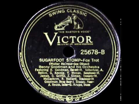 78 RPM: Benny Goodman & his Orchestra - Sugarfoot Stomp