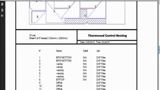 Dxf Direct Nesting On Thermwood Q-core Control